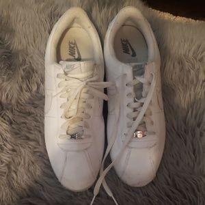 "Nike Cortez White Leather ""Gump"" Shoes 2015"